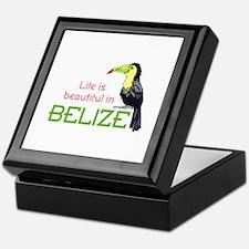 TOUCAN LIFE IN BELIZE Keepsake Box