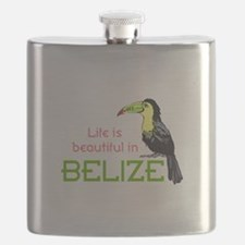 TOUCAN LIFE IN BELIZE Flask