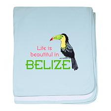 TOUCAN LIFE IN BELIZE baby blanket