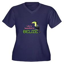 TOUCAN LIFE IN BELIZE Plus Size T-Shirt