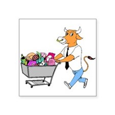 Bull Shopping Sticker