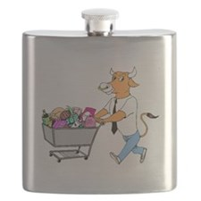 Bull Shopping Flask