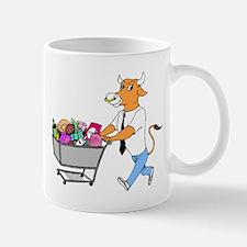 Bull Shopping Mugs