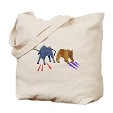 Bull And Bear Tote Bag