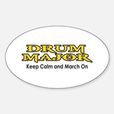 KEEP CALM MARCH ON Decal