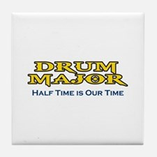 HALF TIME IS OUR TIME Tile Coaster