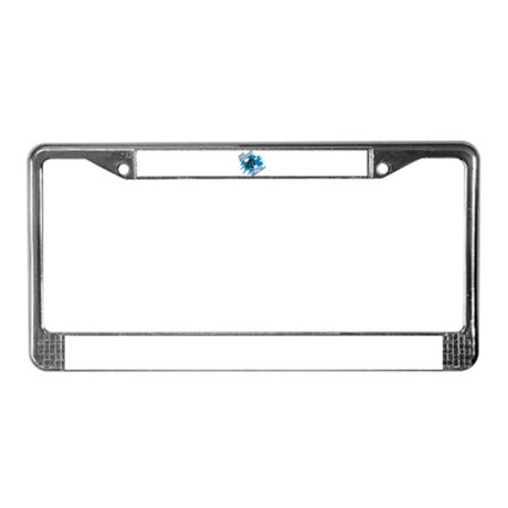 The Puck Stops Here License Plate Frame