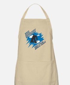 The Puck Stops Here BBQ Apron