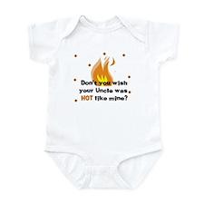 Uncle Hot like Mine Baby Infant Bodysuit