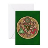 Celtic christmas Greeting Cards