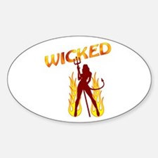 RK Wicked Oval Decal