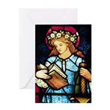 St Catherine Greeting Card