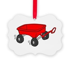 Toy Red Wagon Ornament