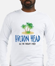 Hilton Head Therapy - Long Sleeve T-Shirt