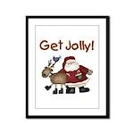 Get Jolly Framed Panel Print