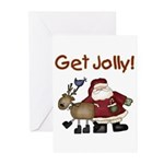 Get Jolly Greeting Cards (Pk of 20)