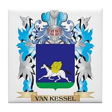 Van-Kessel Coat of Arms - Family Cres Tile Coaster