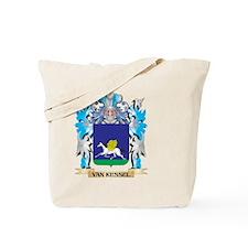 Van-Kessel Coat of Arms - Family Crest Tote Bag