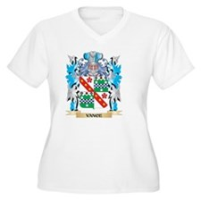 Vance Coat of Arms - Family Cres Plus Size T-Shirt