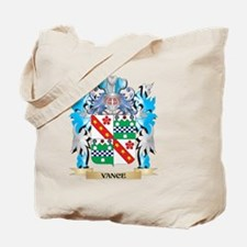 Vance Coat of Arms - Family Crest Tote Bag