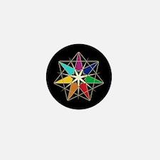 Chakra Fairy Star Mini Button