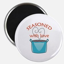 SEASONED WITH LOVE Magnets