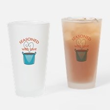 SEASONED WITH LOVE Drinking Glass