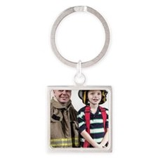 Cool Casey Square Keychain