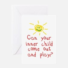 Inner Child Greeting Card