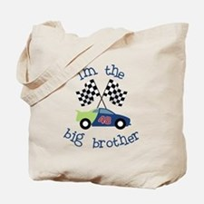 big brother race car Tote Bag