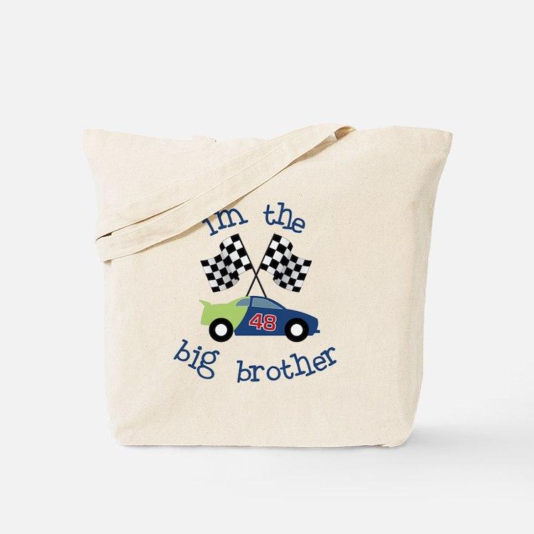 big brother race car Tote Bag