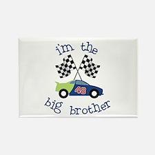 big brother race car Rectangle Magnet