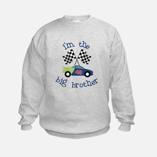 big brother race car Sweatshirt