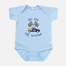 big brother race car Infant Bodysuit