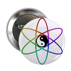 Atomic Tao Yin Yang Button