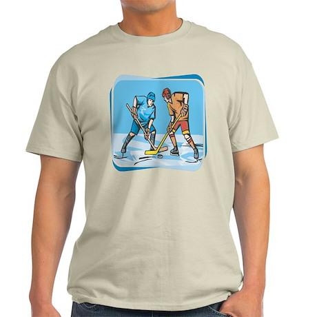 Hockey Players On Ice Light T-Shirt
