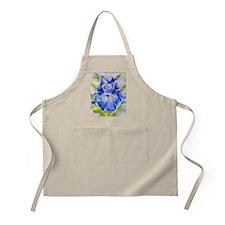 Iris Blue Apron