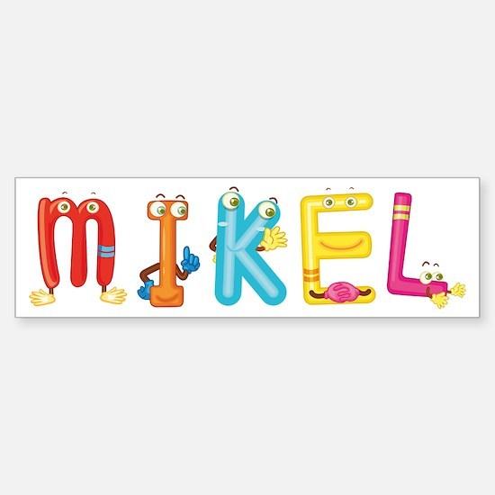 Cute Mikel Sticker (Bumper)