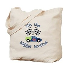 bigger brother race Tote Bag