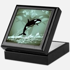 Amazing Orca Keepsake Box