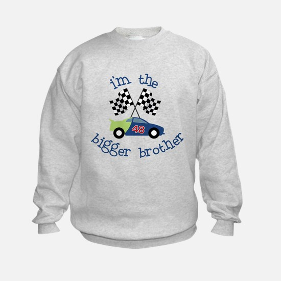 bigger brother race Sweatshirt