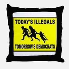 AMERICA'S ENEMY Throw Pillow