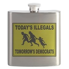 AMERICA'S ENEMY Flask