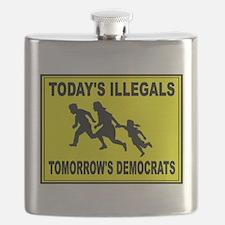 AMERICA'S ENEMY Flask