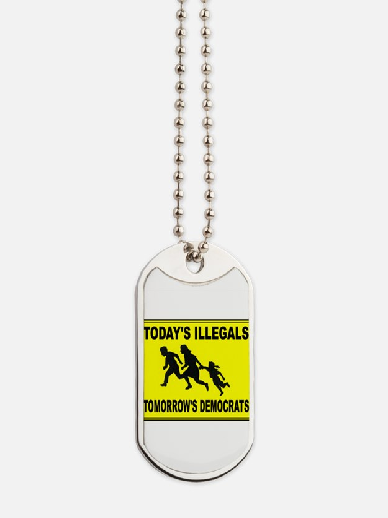 AMERICA'S ENEMY Dog Tags