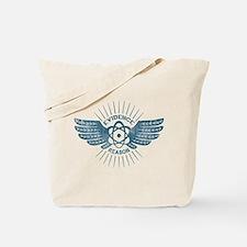 Winged Atom Tote Bag