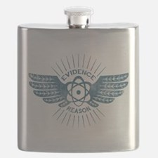Winged Atom Flask