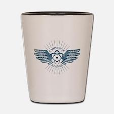 Winged Atom Shot Glass