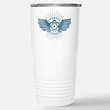Winged Atom Stainless Steel Travel Mug