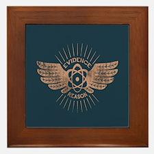 Winged Atom Framed Tile
